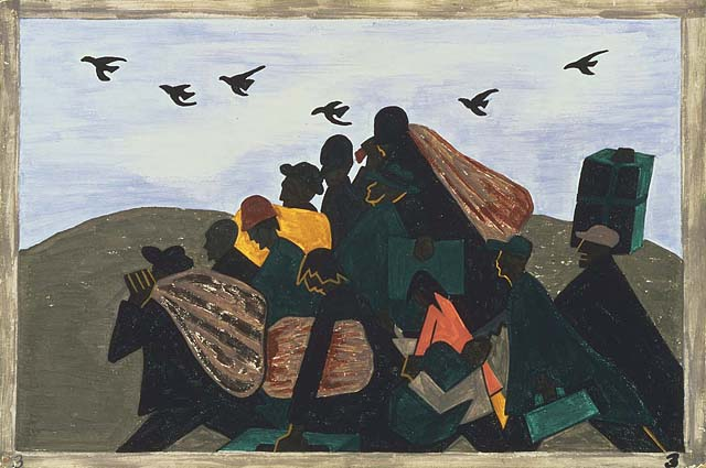 Bio: jacob lawrence was an american painter and he referred to his style as dynamic cubism