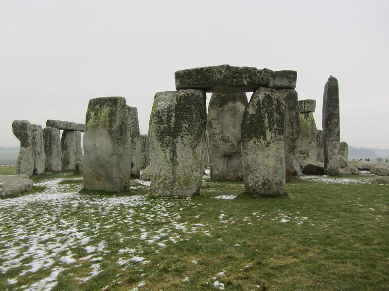 Close up Stonehenge