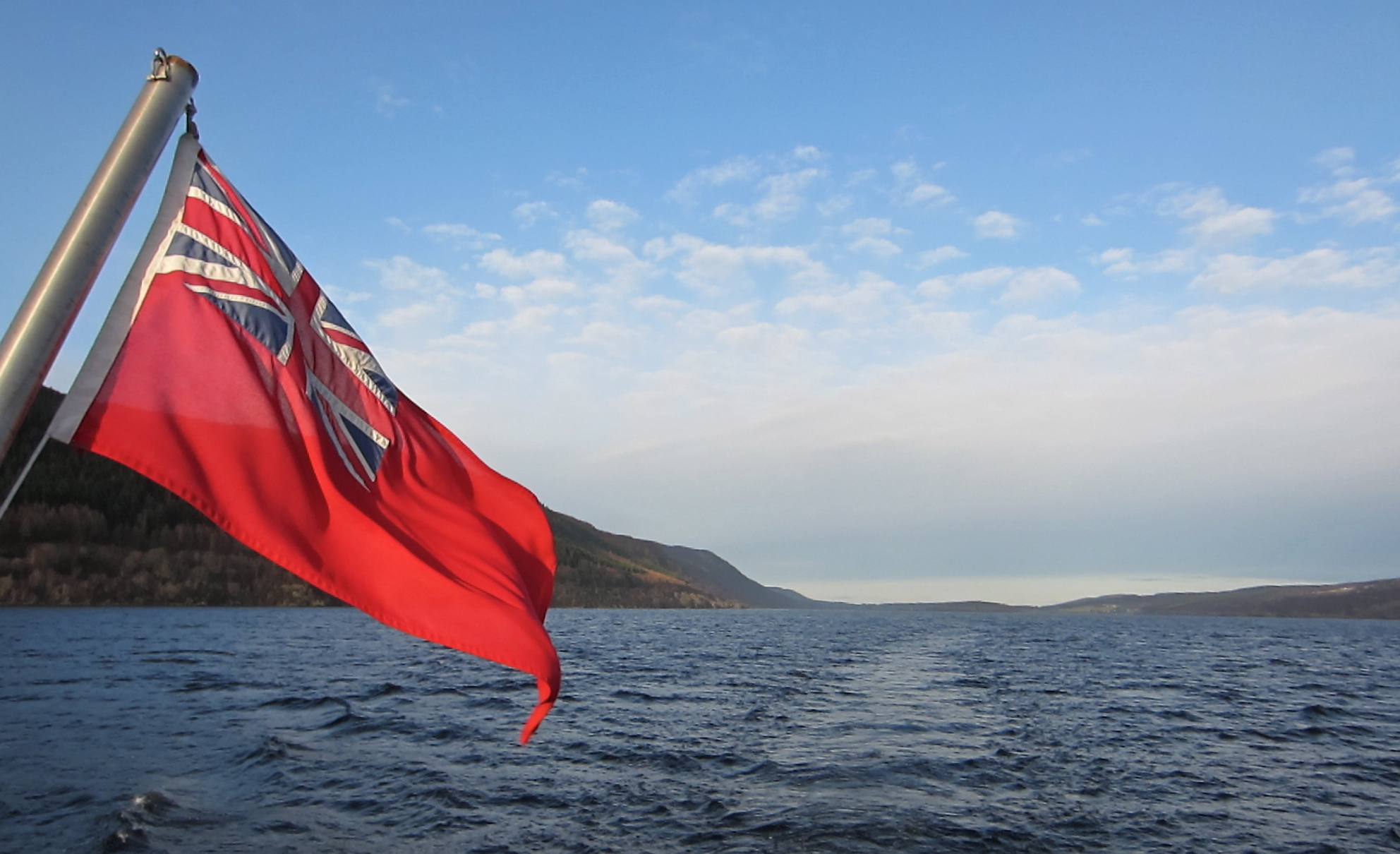 Union Jack and Loch Ness