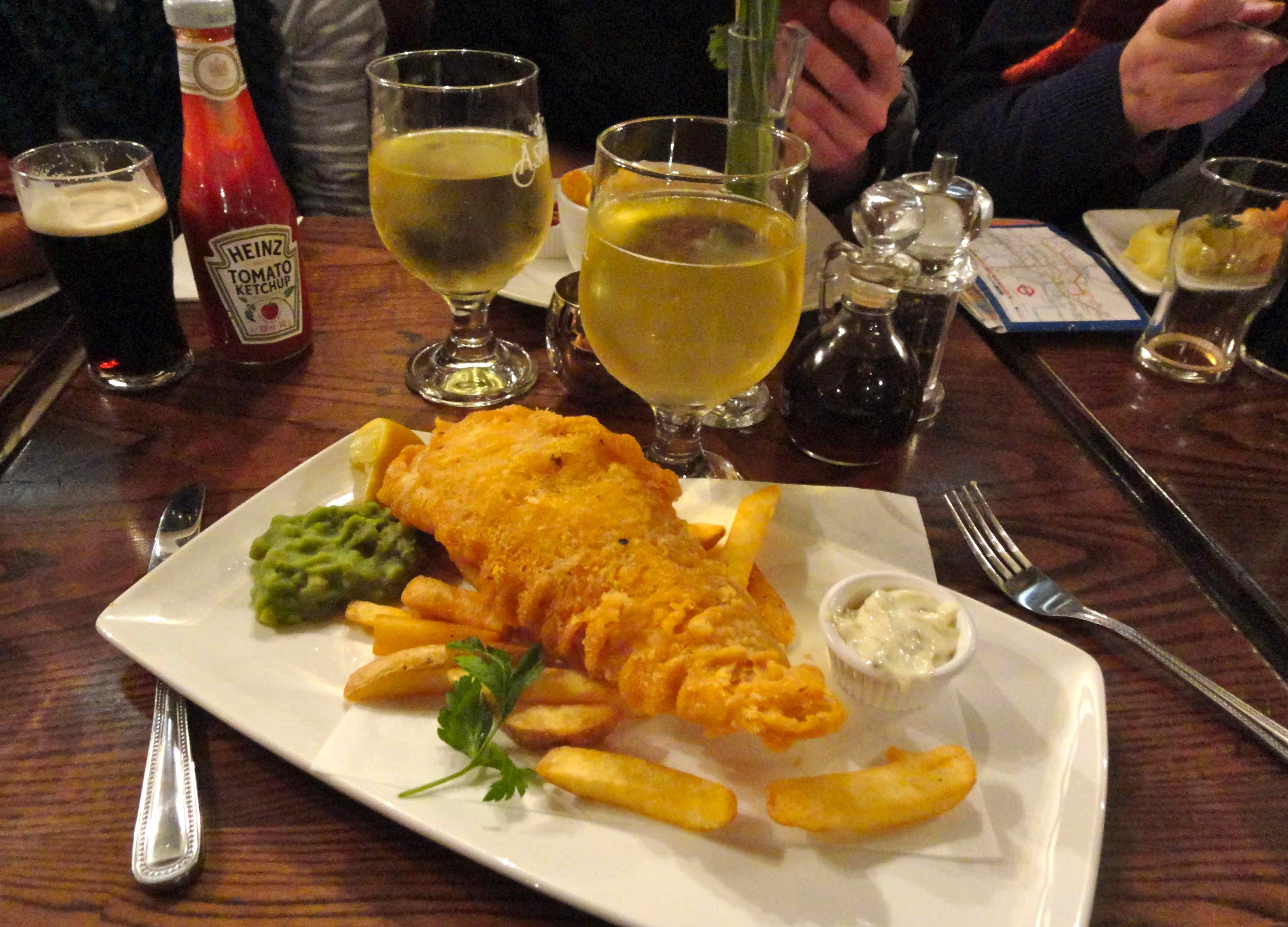 Fish&Chips with Cider