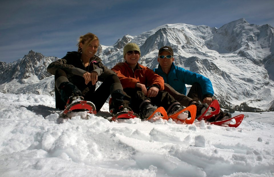 My cousins and I in the Alps