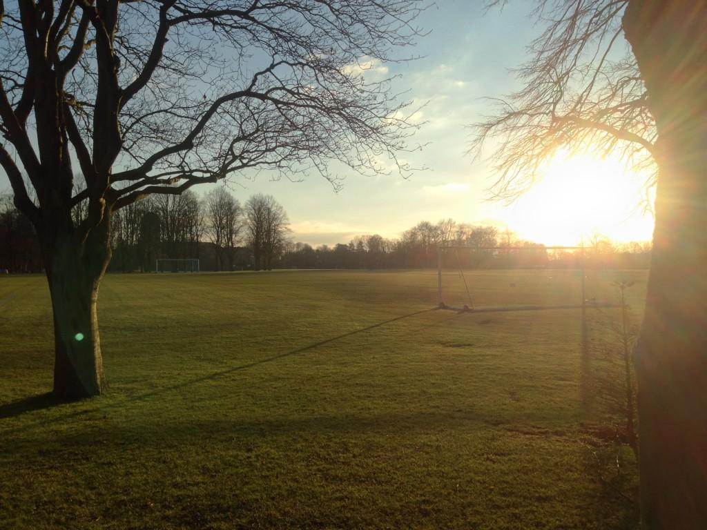 Cambridge football practice complex