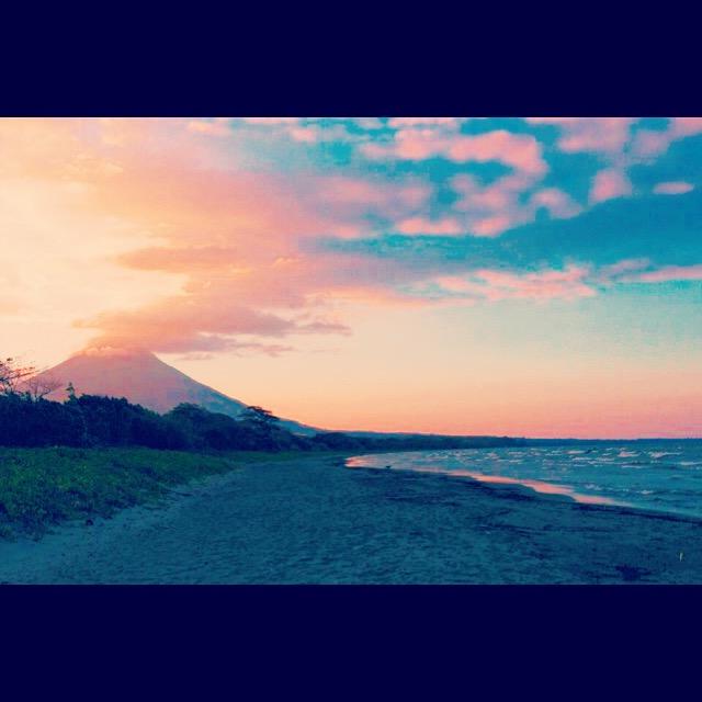 Ometepe Island Beach