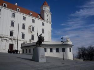 The castle in Bratislava