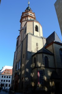 Outside of the Nikolaikirche