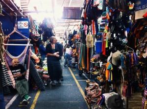 The central art market in downtown San José, AKA souvenir central.