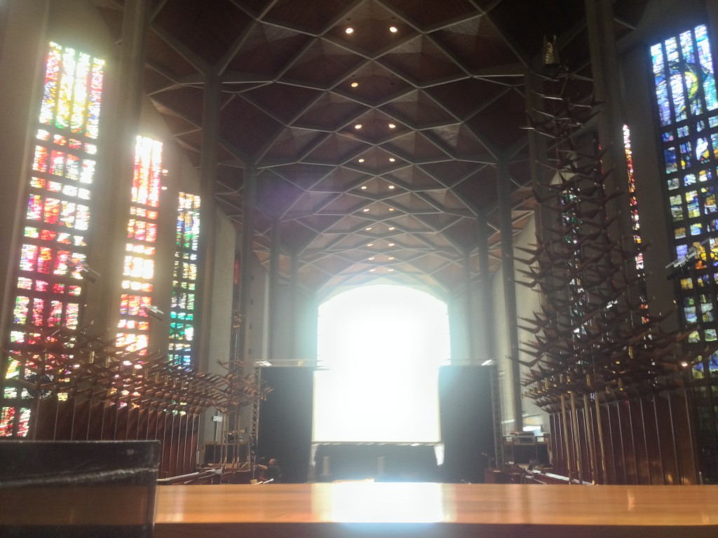 New Coventry Cathedral!  Look Familiar?
