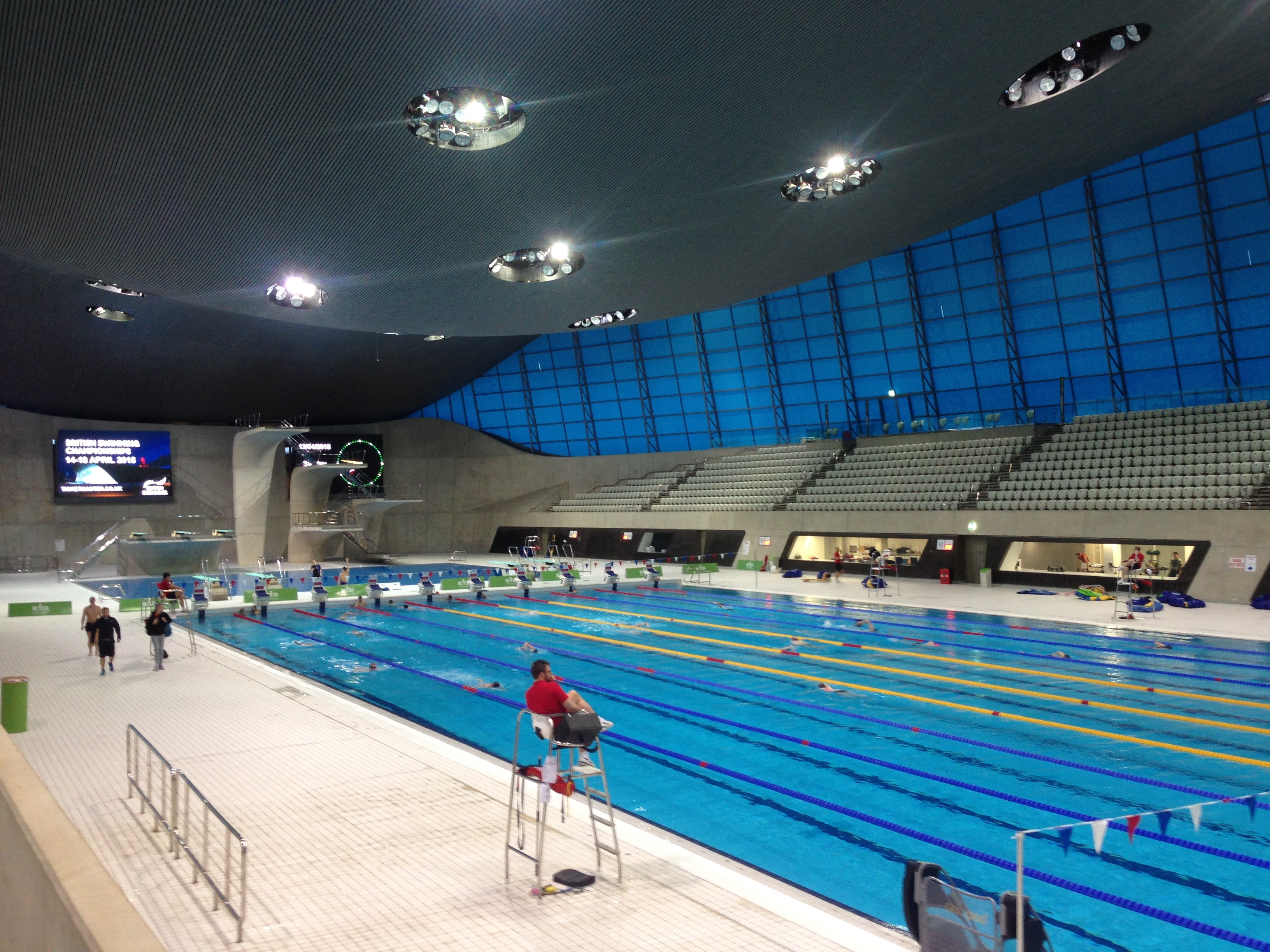 Valpo voyager student stories from around the world - Queen elizabeth olympic park swimming pool ...