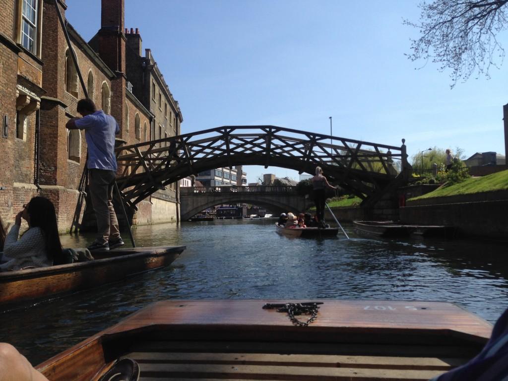 Mathematical Bridge, Queen's College, Cambridge, England