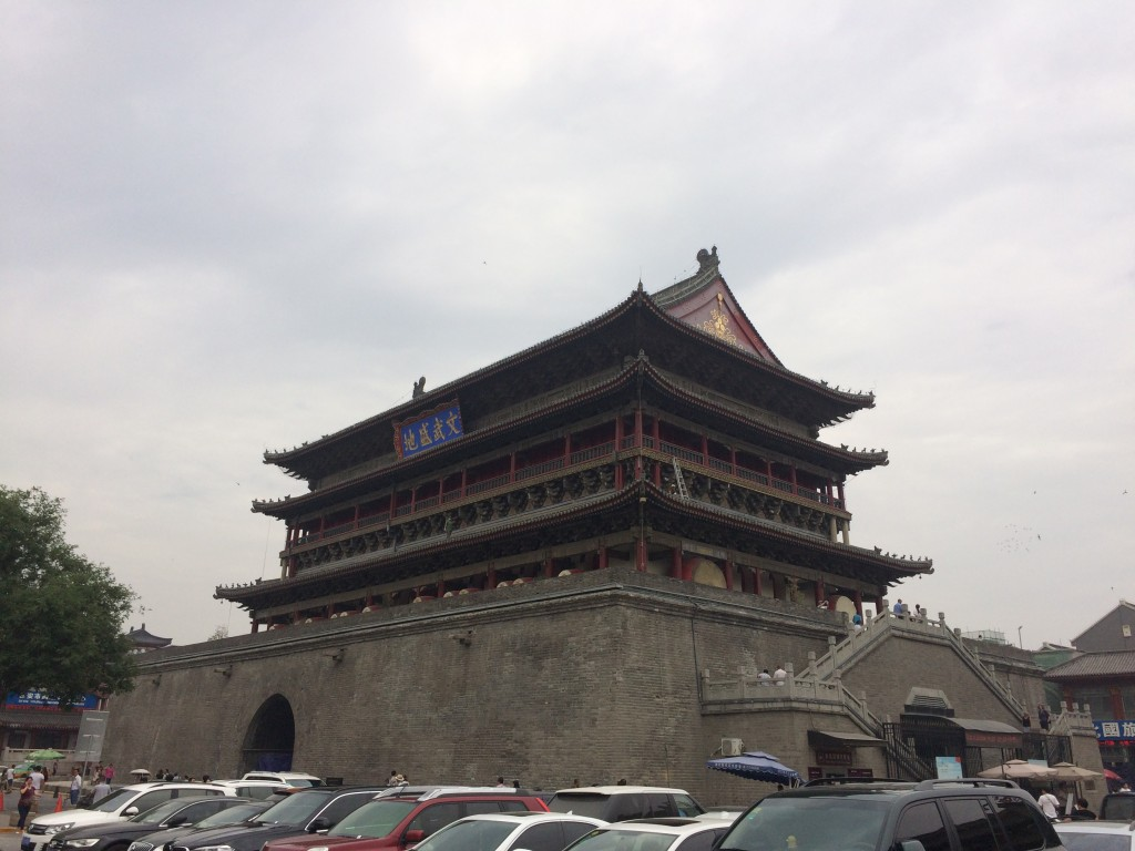 Drum tower in the ancient capital of Xian.