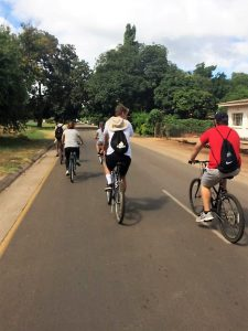 Bike tour of Livingstone