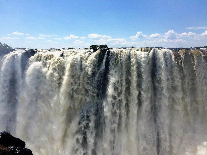 The breathtaking Victoria Falls