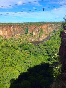 The Gorge and the Zambezi River