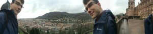 All three of me took advantage of the scenery in Heidelberg.