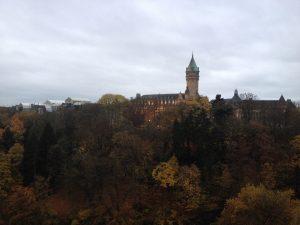 Autumn overtakes Luxembourg City.
