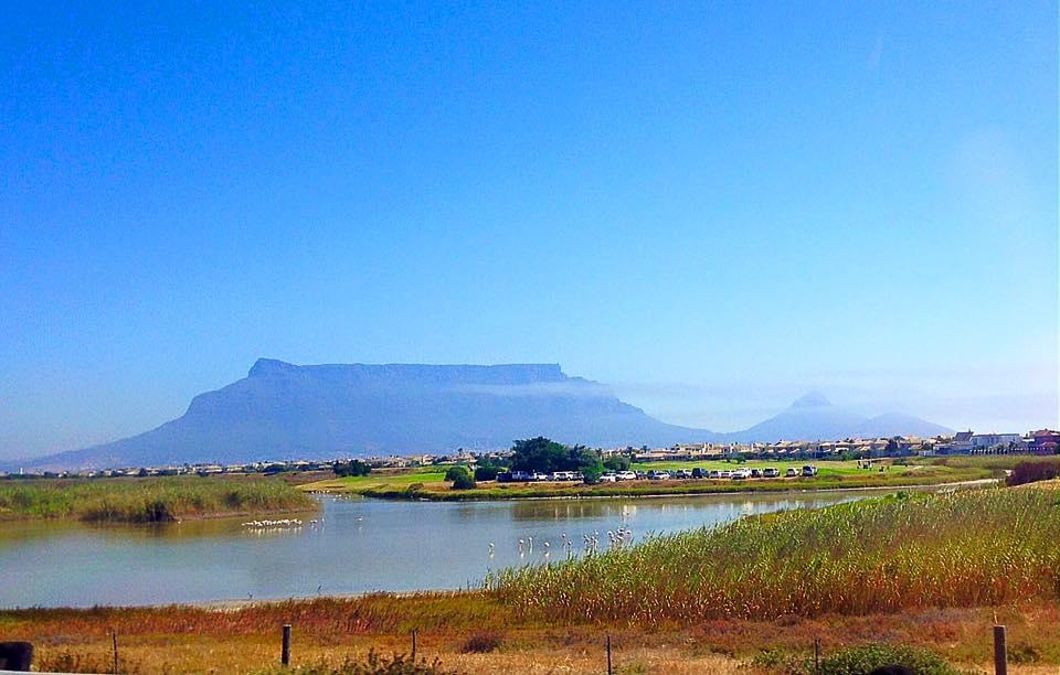 The gorgeous Table Mountain
