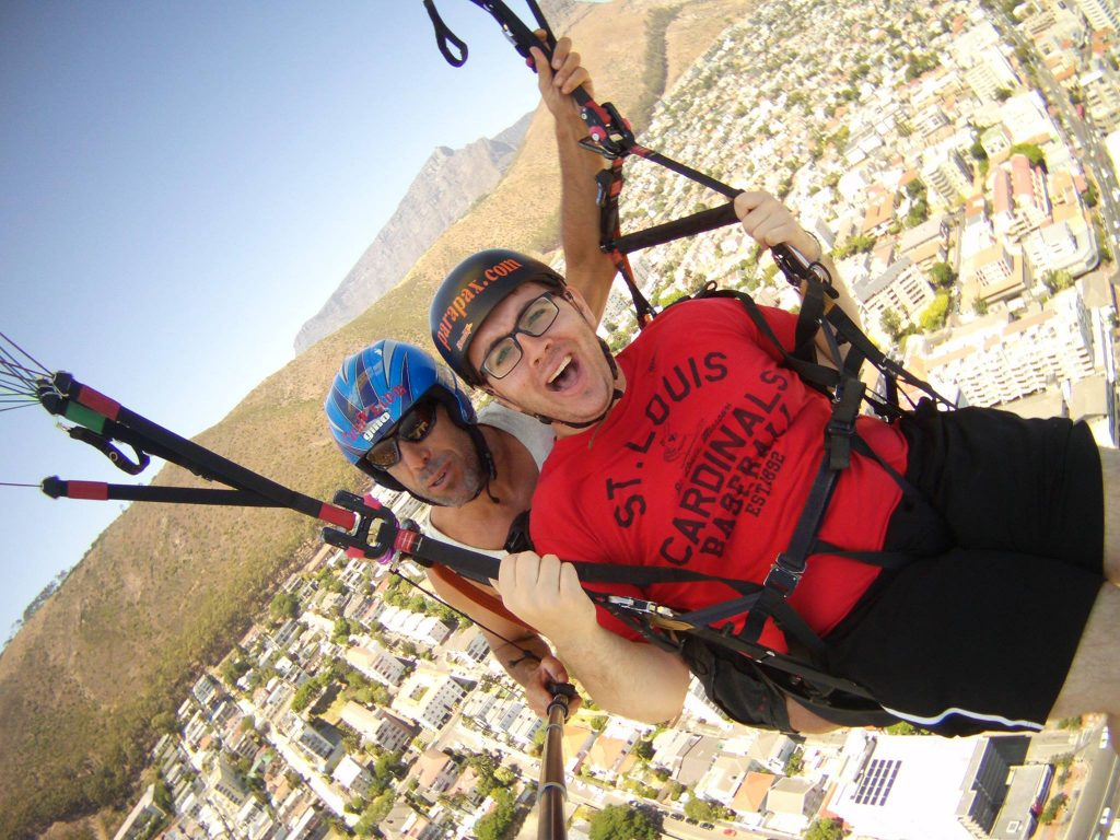 Just floating over Cape Town