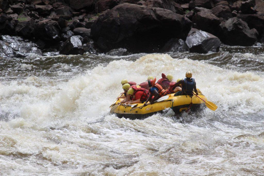 Whitewater Rafting on the Zambezi River