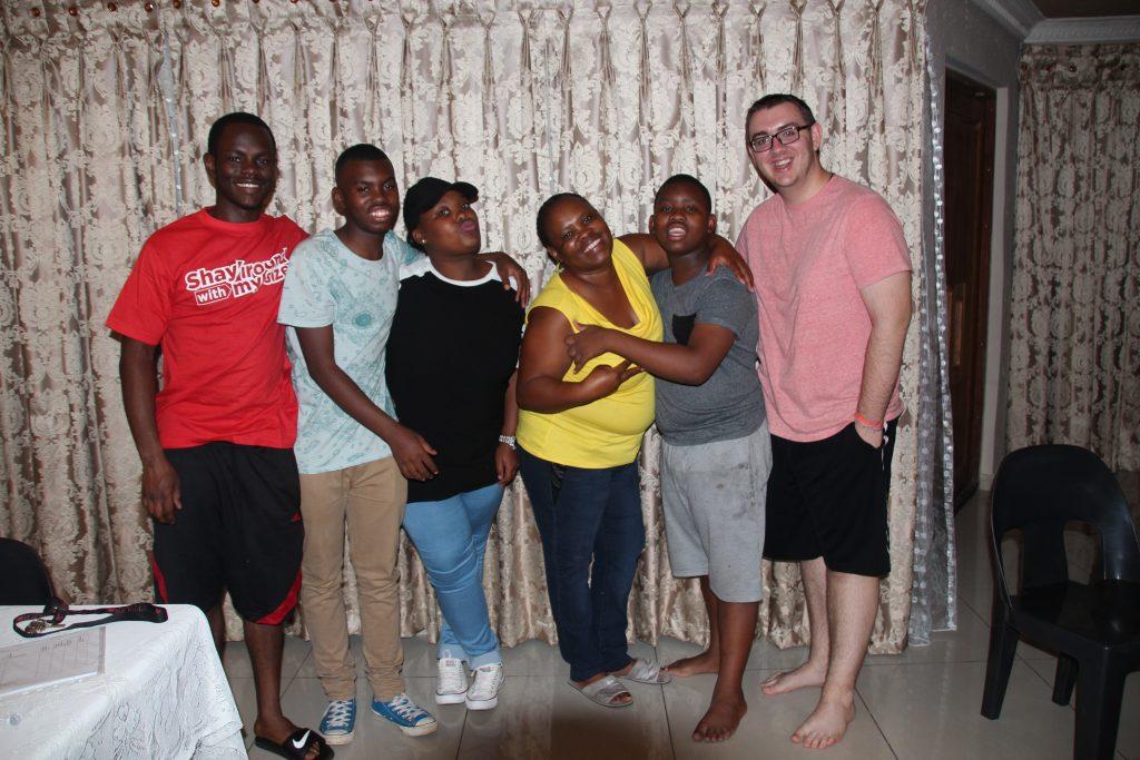 My crazy homestay family in Soweto